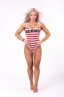 """Baywatch"" swimsuit in stripe"