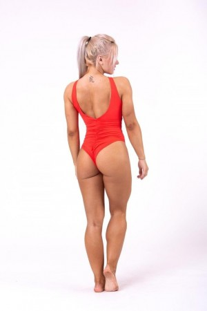 Sexy monokini swimsuit with...