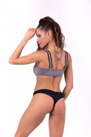 Bikini top bandeau with...