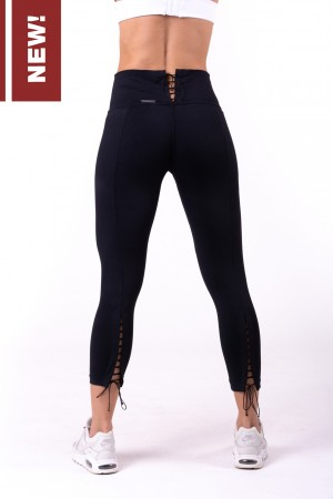 Lace-up 7/8 leggings