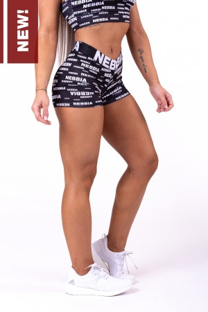 NEBBIA x SEAQUAL™️ mini shorts