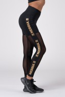 Gold Mesh leggings