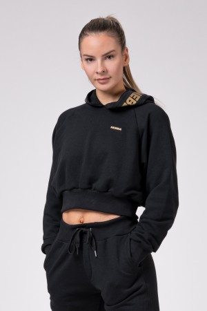 Golden Cropped hoodie
