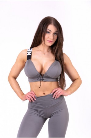 Lace-up sport bra LACE-UP...